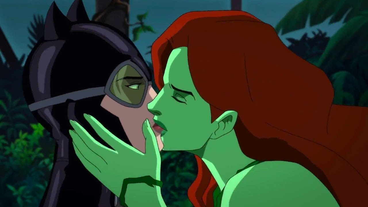 Batman Hush Poison Ivy Cat Woman Make Love Youtube
