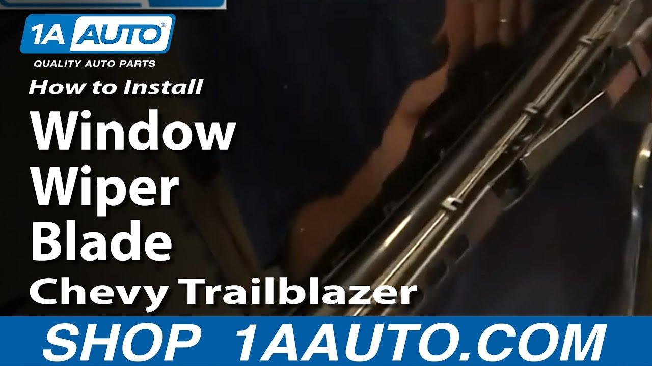 How To Replace Rear Wiper Blade 02-09 Chevy Trailblazer ...