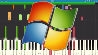 IMPOSSIBLE REMIX - Windows XP Song - Piano Cover
