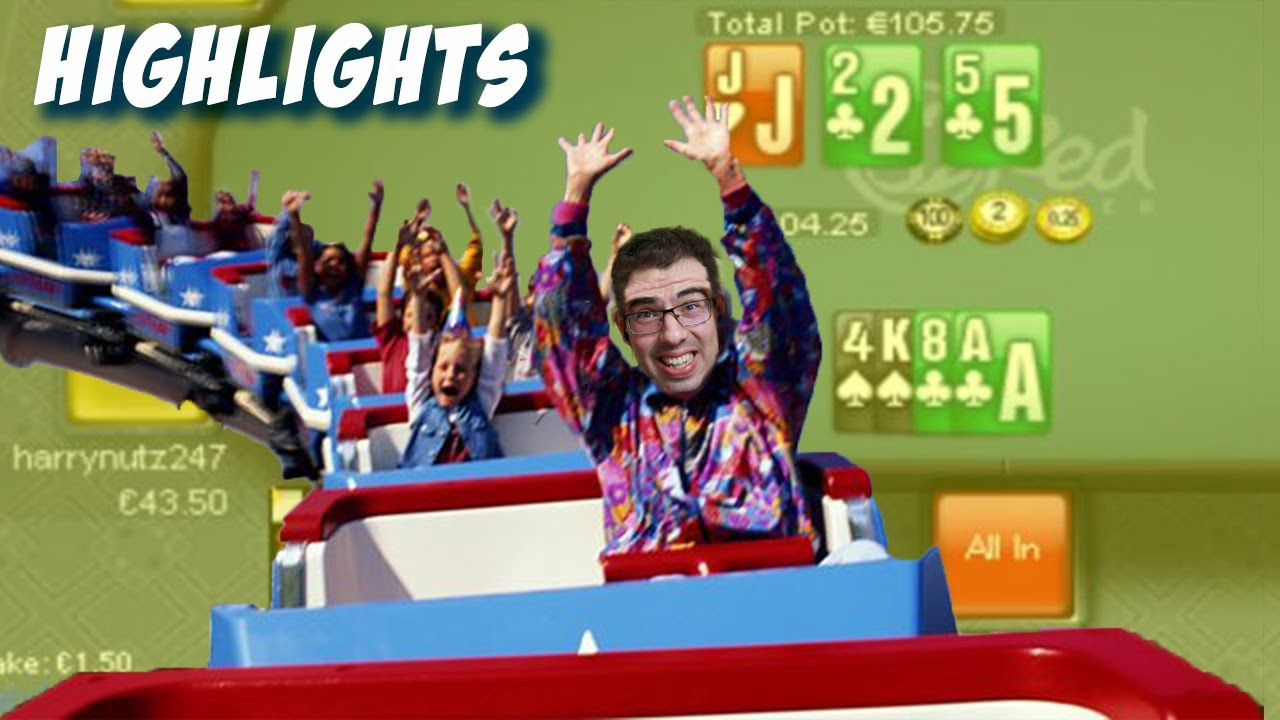 HIGHLIGHTS (Riding the PLO Roller Coaster!) - Poker Bankroll Challenge Day 12