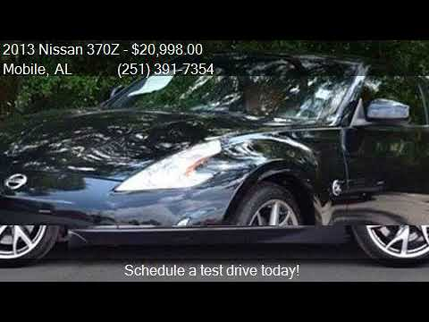 2013 nissan 370z touring 2dr coupe 6m for sale in mobile, al - youtube