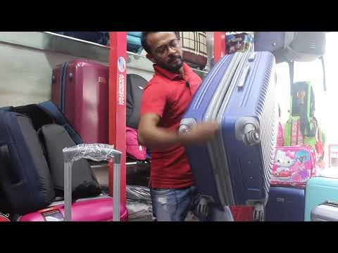 President Luggage Price In Bangladesh | Product Reviewer Bd