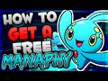 Get a free manaphy in pokemon oras xy manaphy mystery gift event tutorial mp3