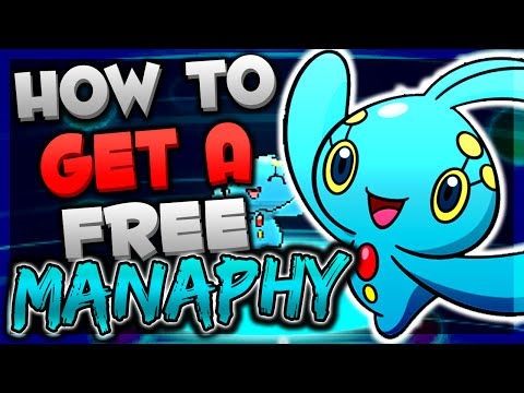 GET A FREE MANAPHY IN POKEMON ORAS/XY   MANAPHY Mystery Gift Event Tutorial!