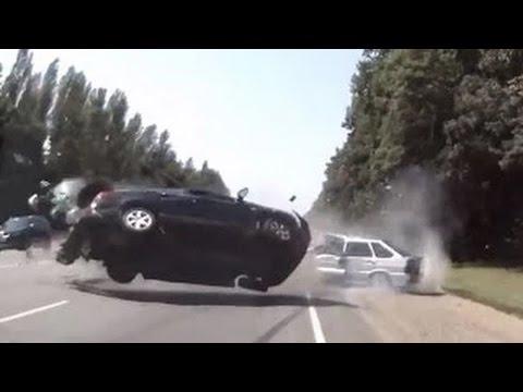 Choques de Autos - Accidentes de Transito - Rusos al Volante #1