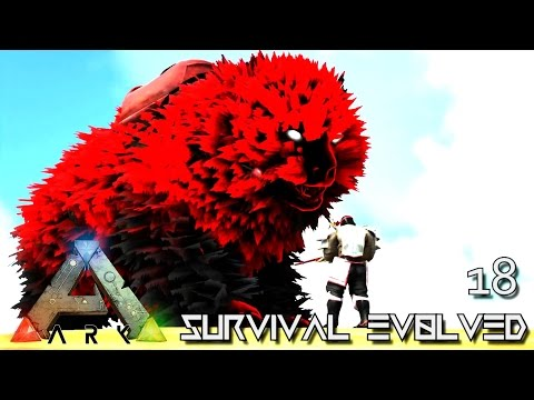 ARK: SURVIVAL EVOLVED - PERFECT TAME ANCIENT DIREBEAR !!! E18 (MOD ARK ETERNAL CRYSTAL ISLES)
