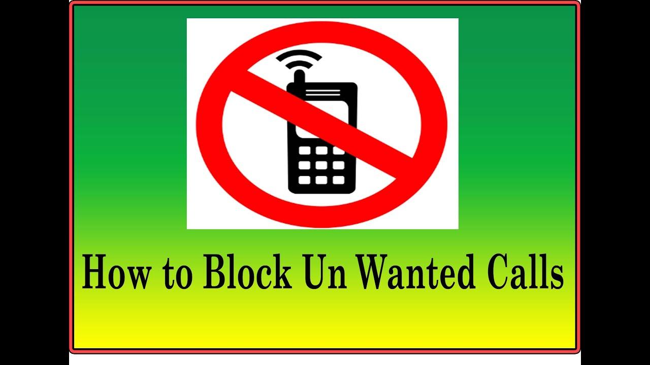 How To Block Calls : 2016