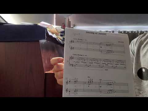 Sailing at Sunset Duet Song (1 piano player only) #piano #duet