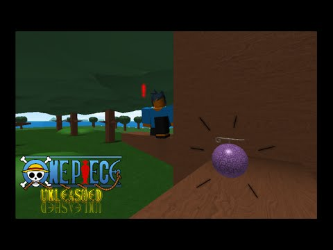 Roblox one piece unleashed ii how and where to find a devil fruit
