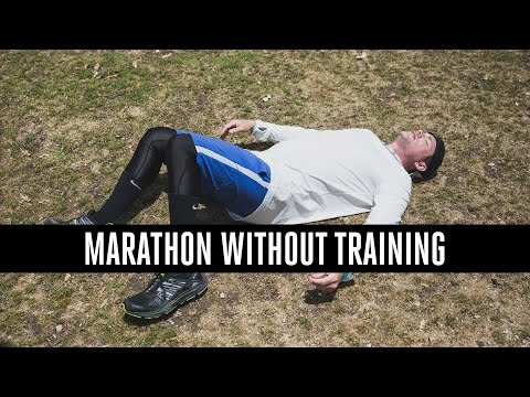 Thumbnail: Can You Run A Marathon Without Training?