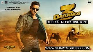 Dabangg 3 Official Music Track Song Ringtone Free Download Mp3