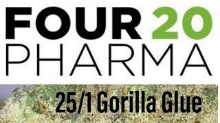 Medizinisches Cannabis 420Pharma 25/1 Stŗain Gorilla Glue Review