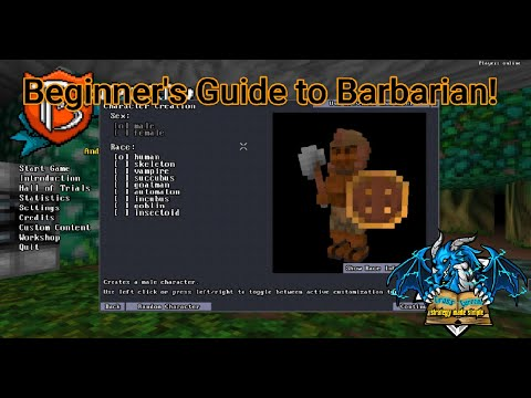 Barony: Beginner's Guide to Barbarian! |