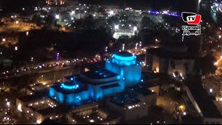في اليوم العالمي للتوحد.. معالم مصر تضيئ باللون الأزرق