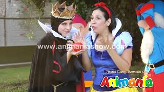 Repeat youtube video Show Infantil Blanca Nieves - Animania Show