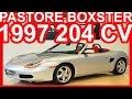 4K PASTORE Porsche Boxster 1997 Prata aro 16 MT5 RWD 2.5 Boxer-6 24v 204 cv 25 kgfm 240 kmh #BOXSTER