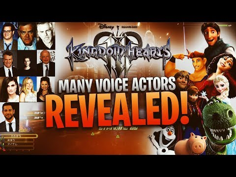 Kingdom Hearts 3 - Original Voice Actors Reprise Their Roles!
