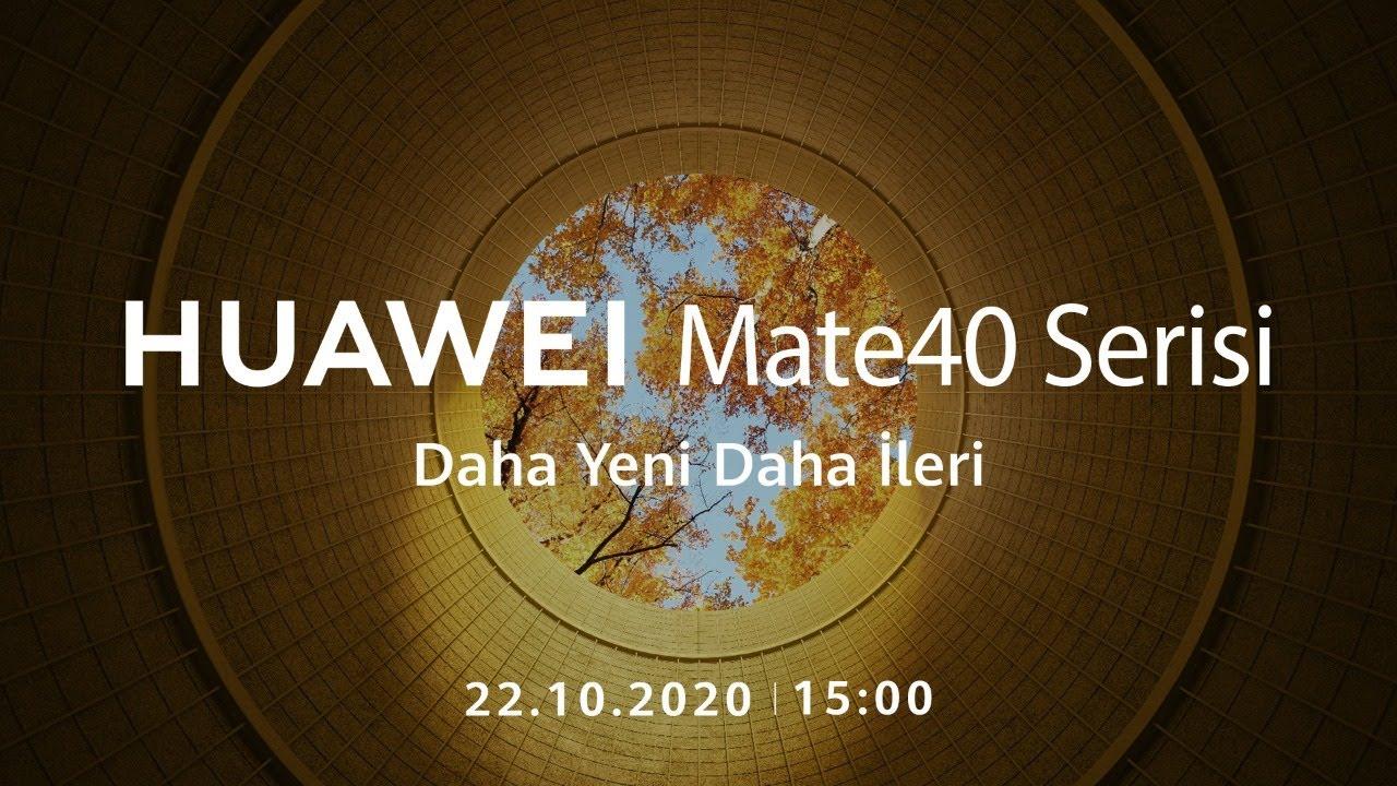 HUAWEI Mate40 Serisi Global Online Lansman