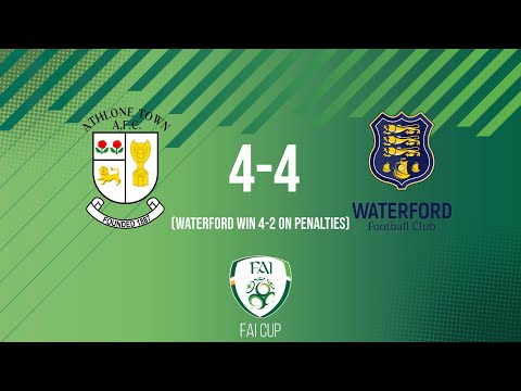 Athlone Waterford Goals And Highlights