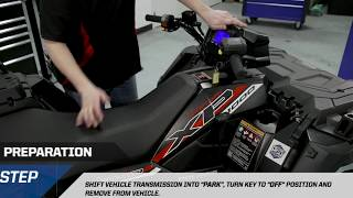 SPORTSMAN® XP1000 Polaris® PRO HD Winch with Rapid Rope Recovery Install | Polaris Off-Road Vehicles