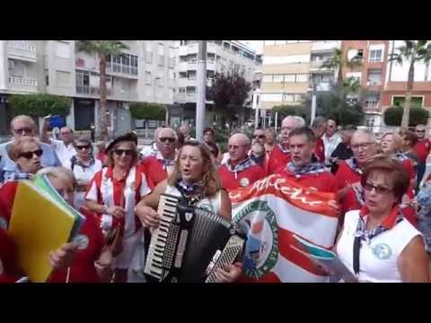 Celebración V  de Begoña  Habanera  Torrevieja  11 10 2015