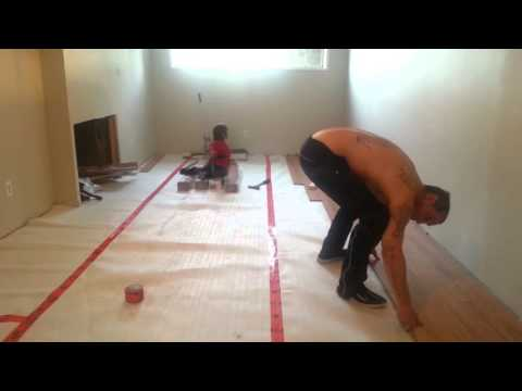 How to install laminate floors (part 2/10)