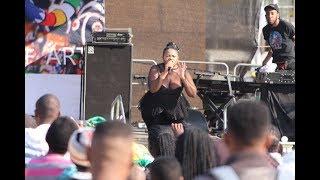 Busiswa performing at Womens Day Event at Union Buildings