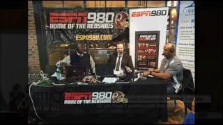 Stephen A Smith vs Brian Mitchell on ESPN 980