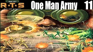 Army Men RTS - One Man Army - Let`s Play Gameplay Part 11