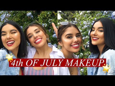 GRWU: FOURTH OF JULY MAKEUP | Faye Claire thumbnail