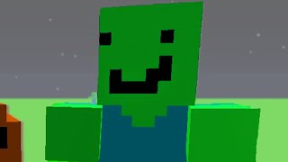 Minecraft, But I've drawn the Textures in 30 minutes