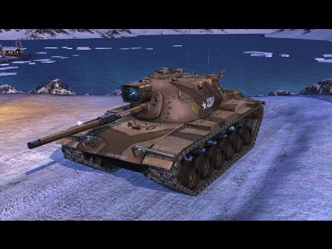 World Of Tanks Blitz Les jumeaux en (M60) Tiers 10