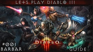 Let's Play Diablo 3 #001 Barbar - Cavatas legt los [HD] [Deutsch]