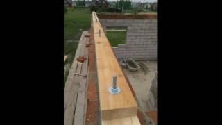 видео О креплении стропил прямо на стены