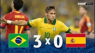 Бразилия Испания 3 0 Обзор Матча Финал Кубок Конфедераций 30 06 2017 HD