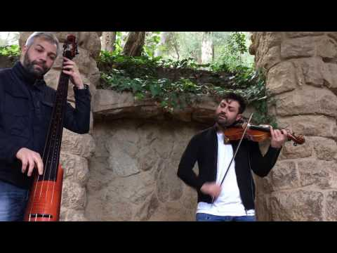 Train, Soul Sister (violin cover) - Busking in the Streets of Barcelona, Spain