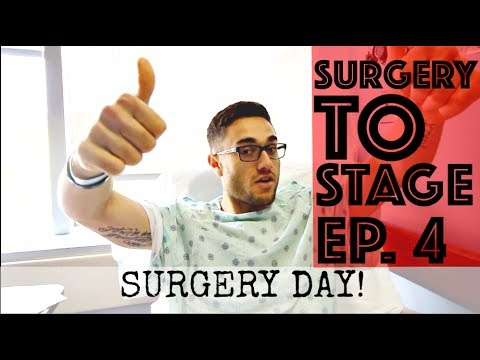 SURGERY DAY! | Hip Arthroscopy / Hip Labral Tear (Repair) Surgery | Surgery To Stage Ep. 4