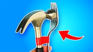 14 MIND-BLOWING TOOL HACKS thumbnail