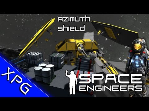 Space Engineers -  Mod Collection Ep 5 Shields and Physical