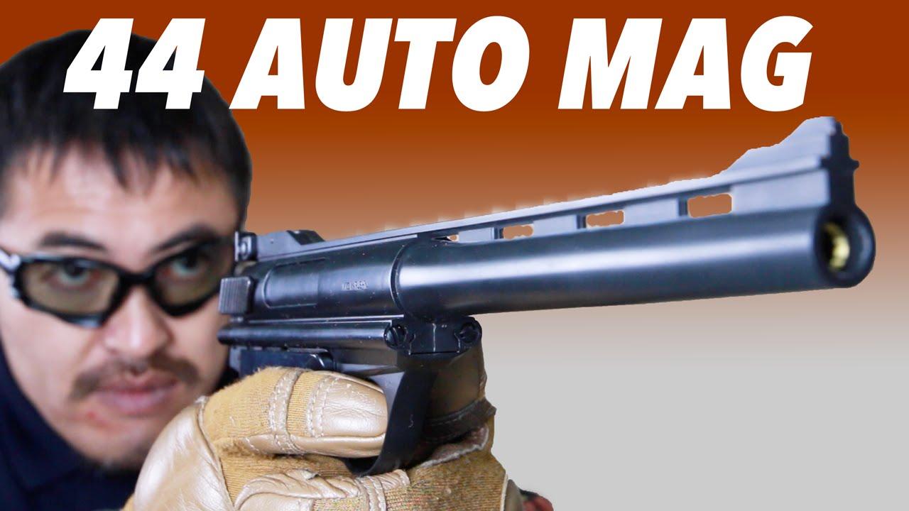 マルシン 44オートマグ クリントワン 8mmbb マキシエイト 固定スライド式