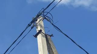 VL-10kV, VL-0,4 kV o'rnatish,-10/0,4 KTP f (D. upland, Smolenskiy R-n Smolensk viloyati)