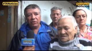 Avalancha deja afectadas viviendas en el municipio de Andes