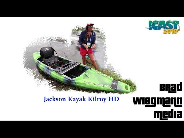 New Jackson Kayak Kilroy HD featuring Bridgett Howard at ICAST