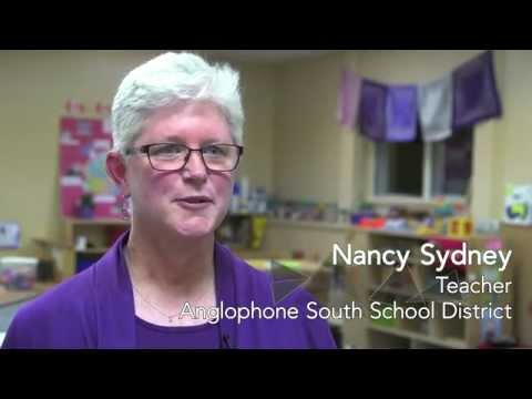Nancy Sydney, Teacher, Anglophone South School District