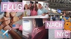 FLUG nach NYC✈️// USA Auslandsjahr 2018/19🇺🇸