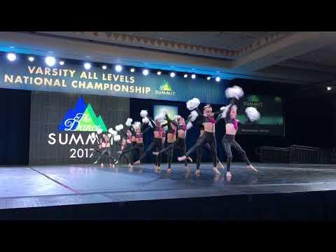 Dance Dynamics Mini Team Pom Dance Summit 2017