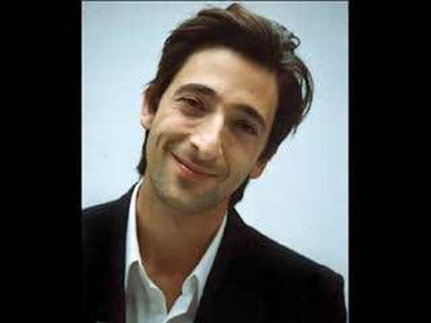 Adrien Brody  Theres just something about him