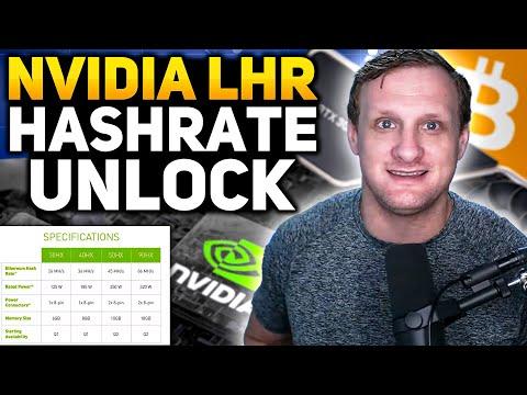 Nvidia LHR Hashrate Unlock Tested!