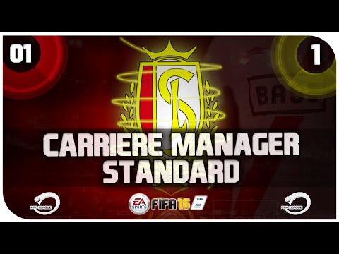 FIFA16 | Carrière Manager Standard De Liège | Saison #1 Épisode #1 | Début De Saison ! |