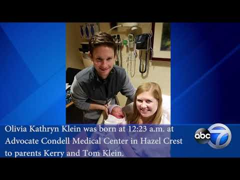 New Year's babies born at Chicago area hospitals